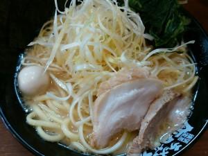 5.07日-町田商店(横浜)ネギラーメン