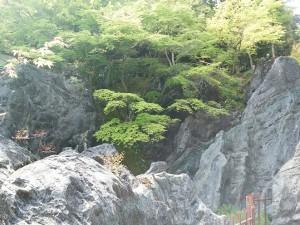 石山寺 硅灰石