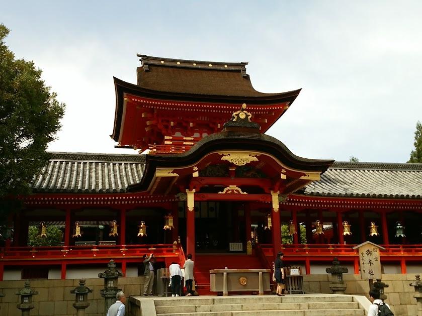 石清水八幡宮 拝殿