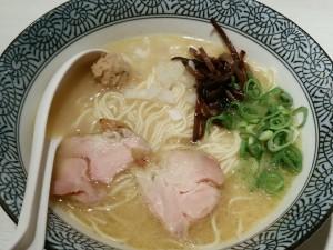 8.01火-めんや美鶴(京都)濃厚鶏白湯そば白