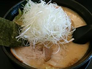 8.02水-あらじん(京都)濃厚味噌豚骨ラーメン+白髪ねぎ