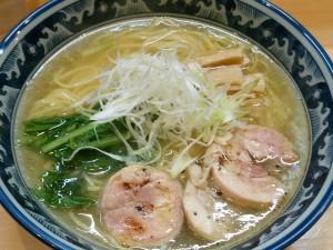 9.16土-ラーメンSORENARI(錦糸町)鶏そば(塩)