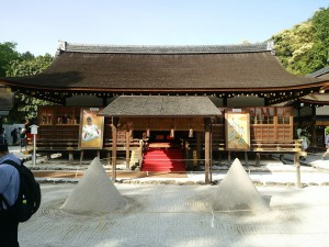 上賀茂神社-立砂-