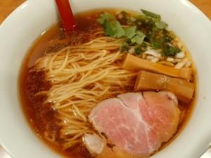 10.21土-麺屋 紅(台東区)醤油らーめん(細麺)